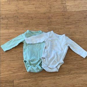 H&M organic cotton bodysuits